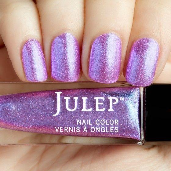 Julep - Regina (Bombshell) Nebula pink iridescent chrome | Nail ...