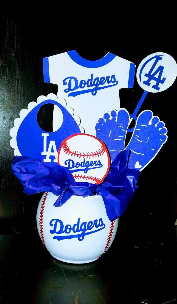 Dodgers Baby Shower Centerpieces Party Ideas