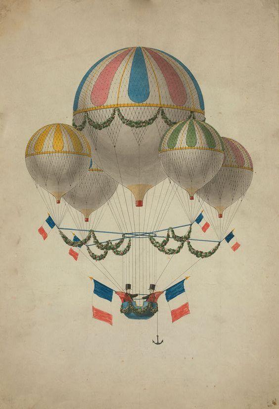 винтажные картинки с воздушными шарами самых странных разновидностях