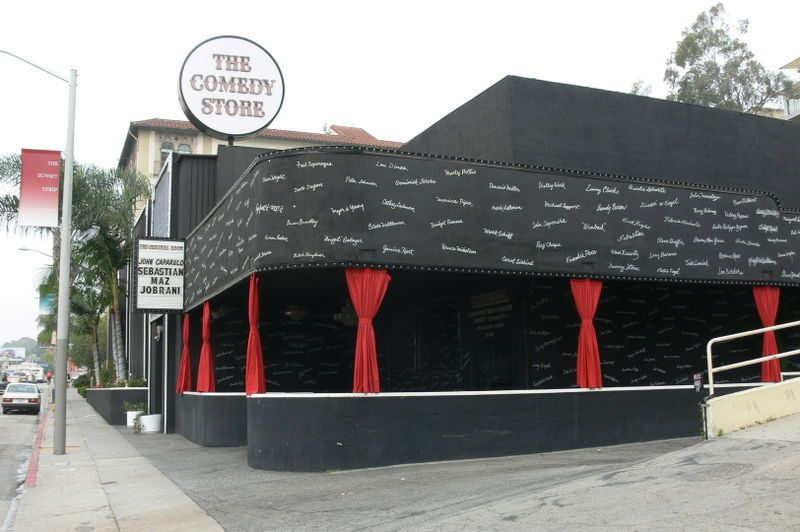 The Comedy Store on Sunset BLVD in West Hollywood!
