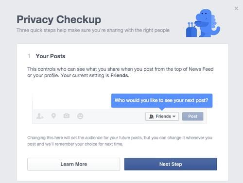 Facebook Debuts a 'Privacy Checkup' Tool to Help You