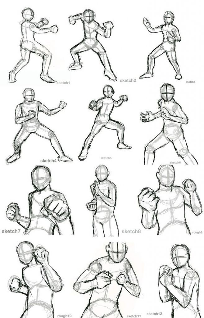 Boxer Drawing Battle For Free Download Battle Poses Drawing In 2020 Anime Poses Reference Anime Poses Art Poses