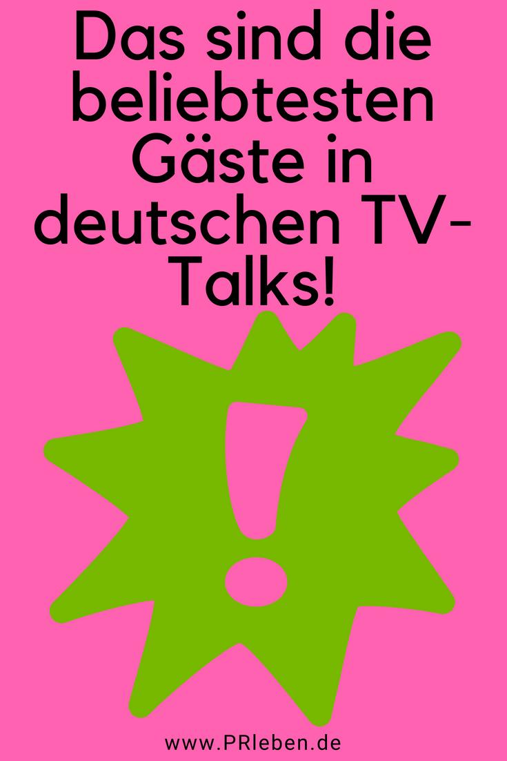 Fur Tv Talk Braucht Man Das Rampensau Gen Promis Kommunikation Einblick