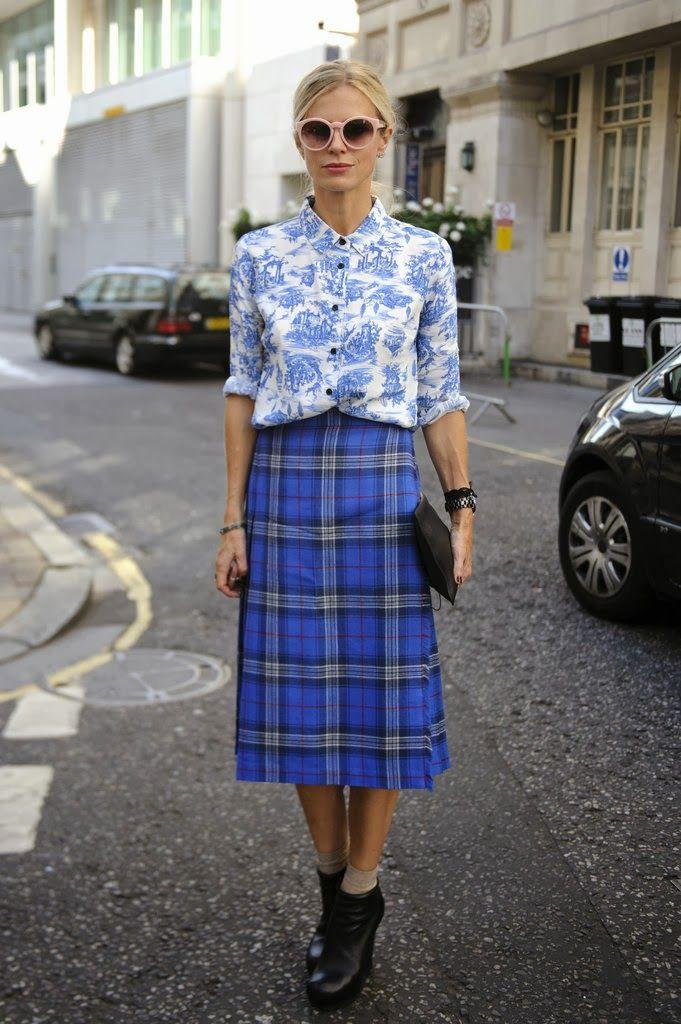 Wie man Style: Plaid & Tartan Röcke #menstreetstyles