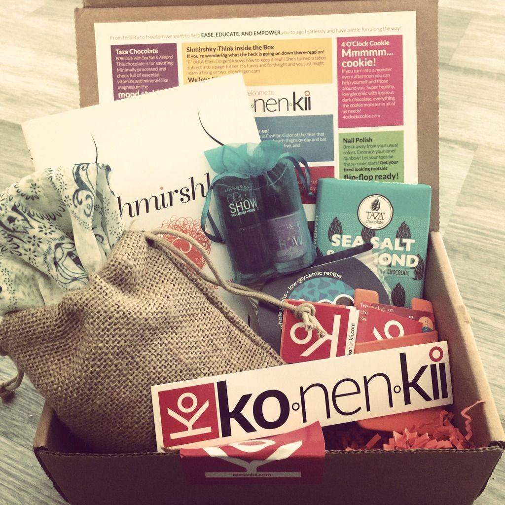 Konenkii Subscription Box Review Summer 2015 Gift