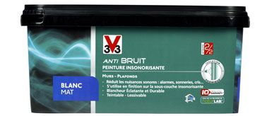 Peinture Anti Bruit V33 Pour Réduire Les Nuisances Sonores