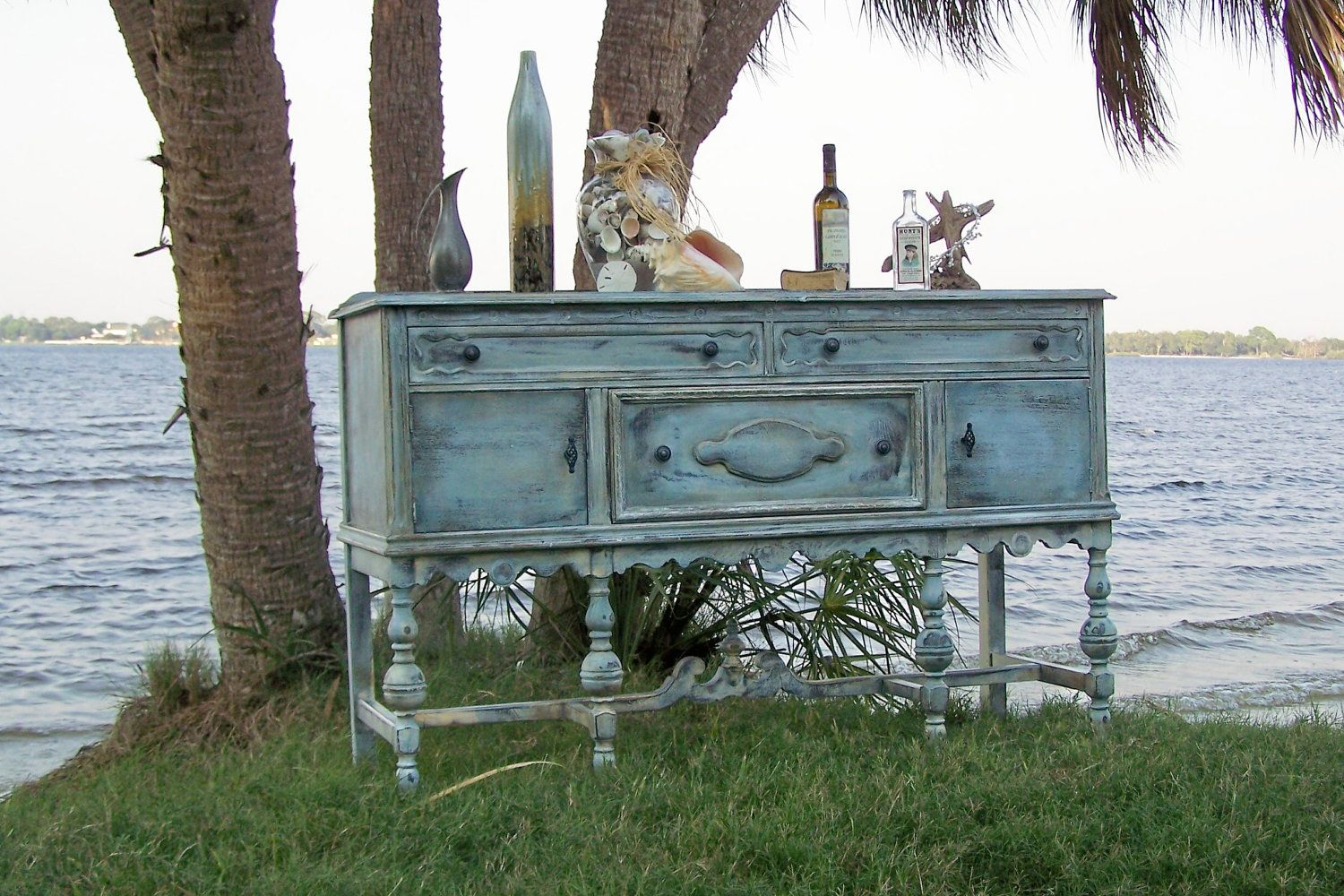 Shabby Chic Buffet   Must Find One Like This To Use As Our Media Table!