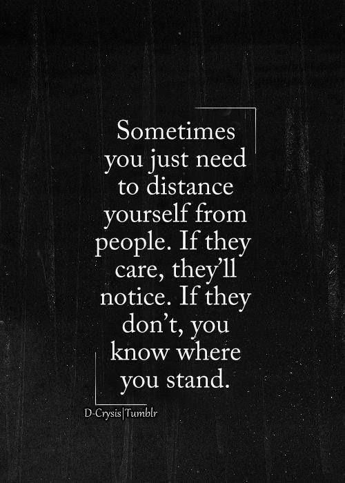 Distance yourself | Independent Women | Pinterest | Distance