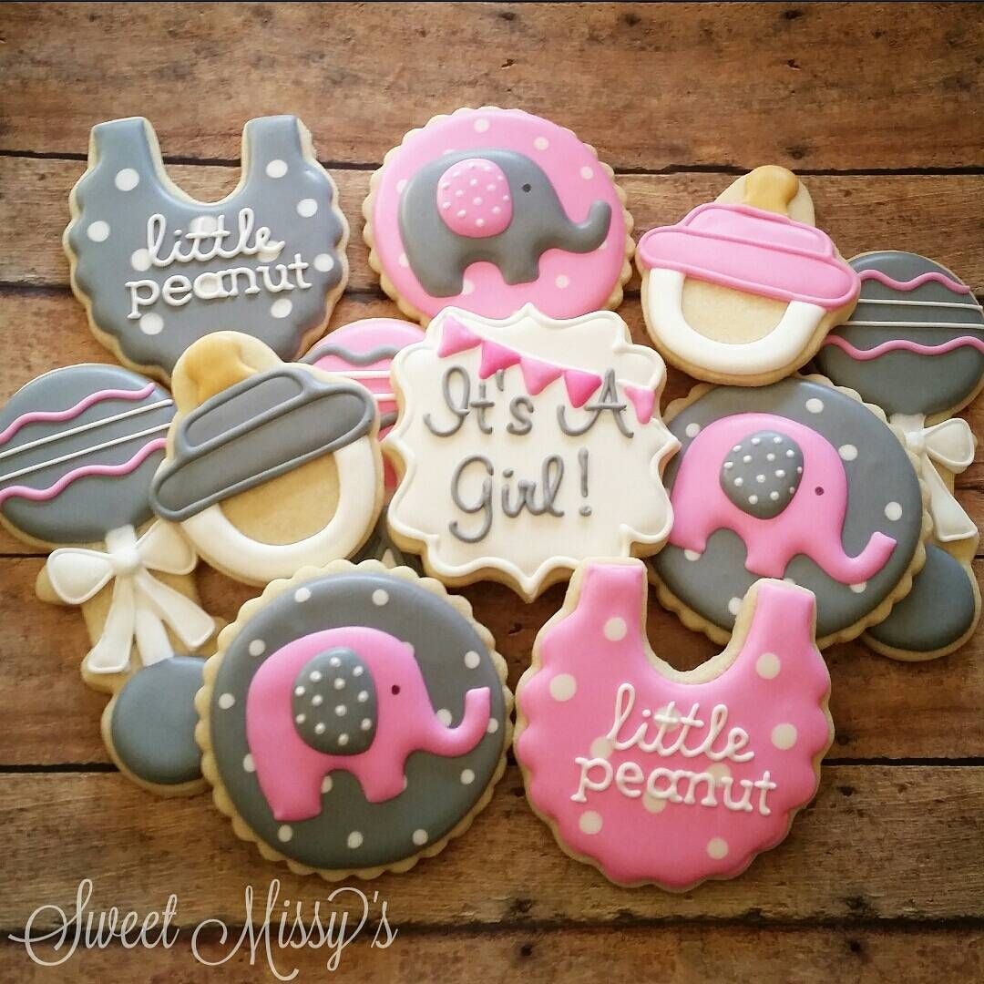 Baby Shower Cookies I Love The Little Peanut Theme