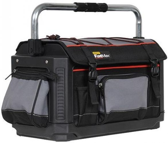 Stanley Fatmax Fabric 20 In Electricians Mechanics Tool Bag Organizer Storage Stanleyfatmax