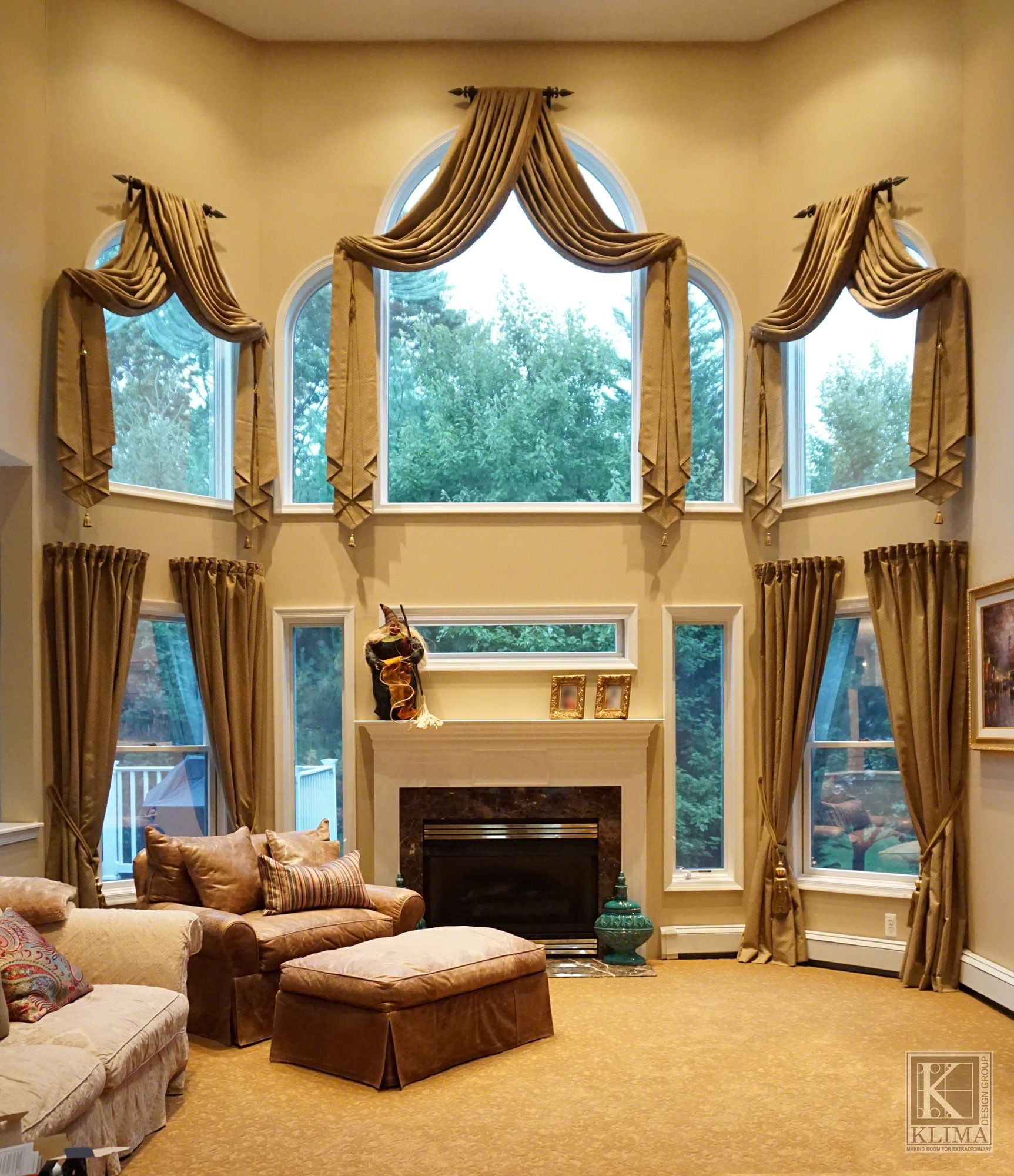 Interior Designer Nj New Jersey Home Decorators Marlboro New Jersey Interior Designers Arched Window Treatments Tall Window Treatments Arched Windows #window #valance #ideas #for #living #room