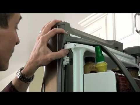 Replace A Door Gasket Kenmore Elite And Lg 3 Door Refrigerators Youtube Kenmore Elite Refrigerator Door Seals Kenmore Elite