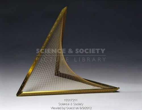 Hyperboloid of one sheet string surface model 1872 art meets science pinterest models - String art modele ...