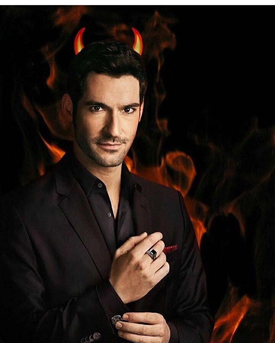 "Lucifer Netflix: Lucifer Morningstar On Instagram: ""It's Devil Time😈"