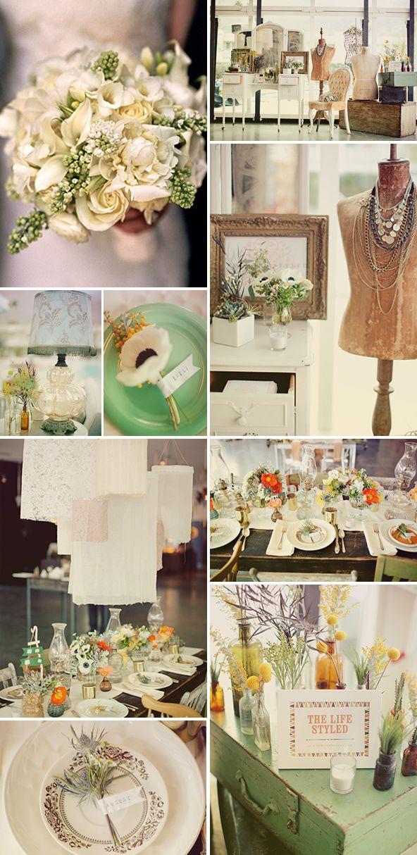 Ideas muy chic para bodas de primavera