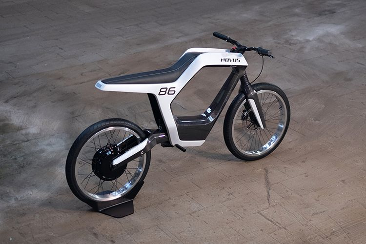 Novus Electric Motorcycle Unveiled At Ces 2019 Electric