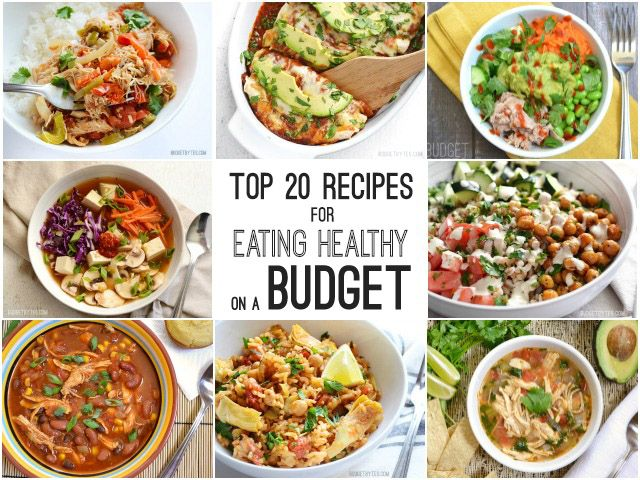 Top 20 Recipes for Eating Healthy on a Budget - Budget Bytes