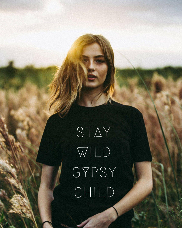 Stay Wild Gypsy Child Tee #gypsy