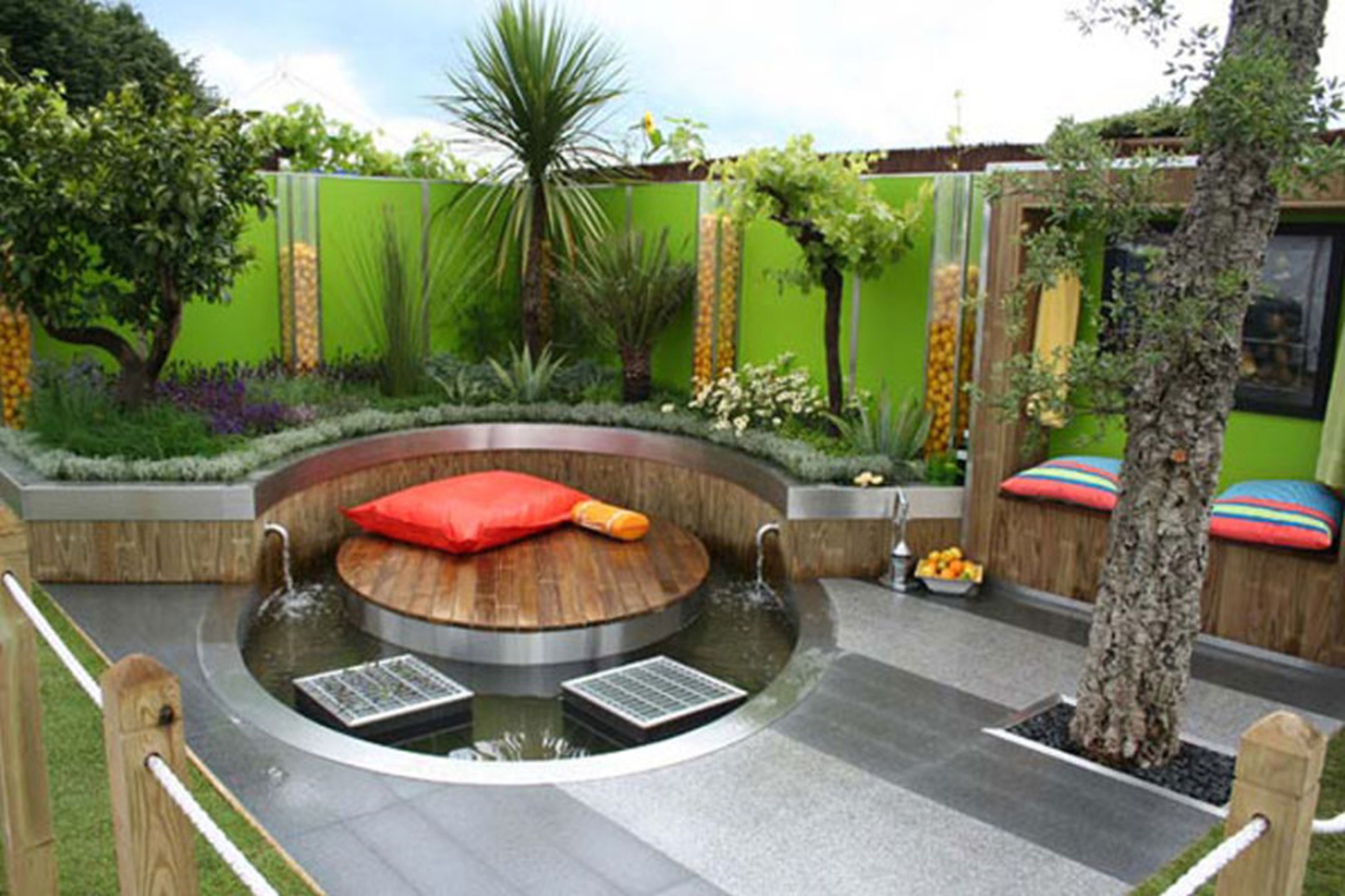 Exterior Design Cool Decorating Ideas For Small Backyards — Dakaya
