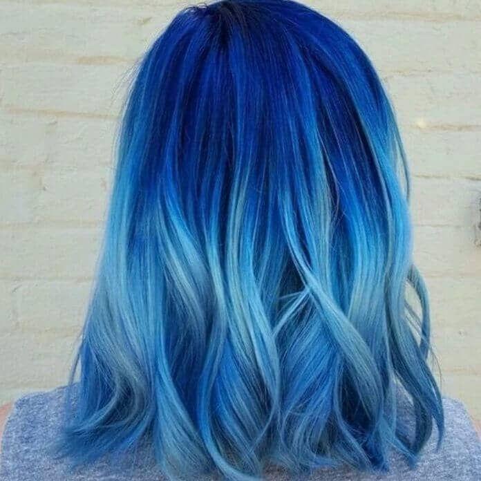 50 fun blue hair ideen werden abenteuerlicher mit ihrem. Black Bedroom Furniture Sets. Home Design Ideas