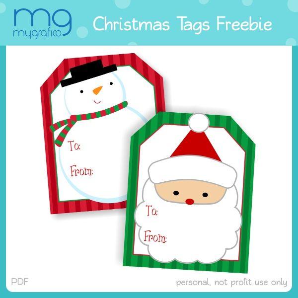 More Christmas Tags   Free printable christmas gift tags, Christmas gift  tags printable, Christmas gift tags template