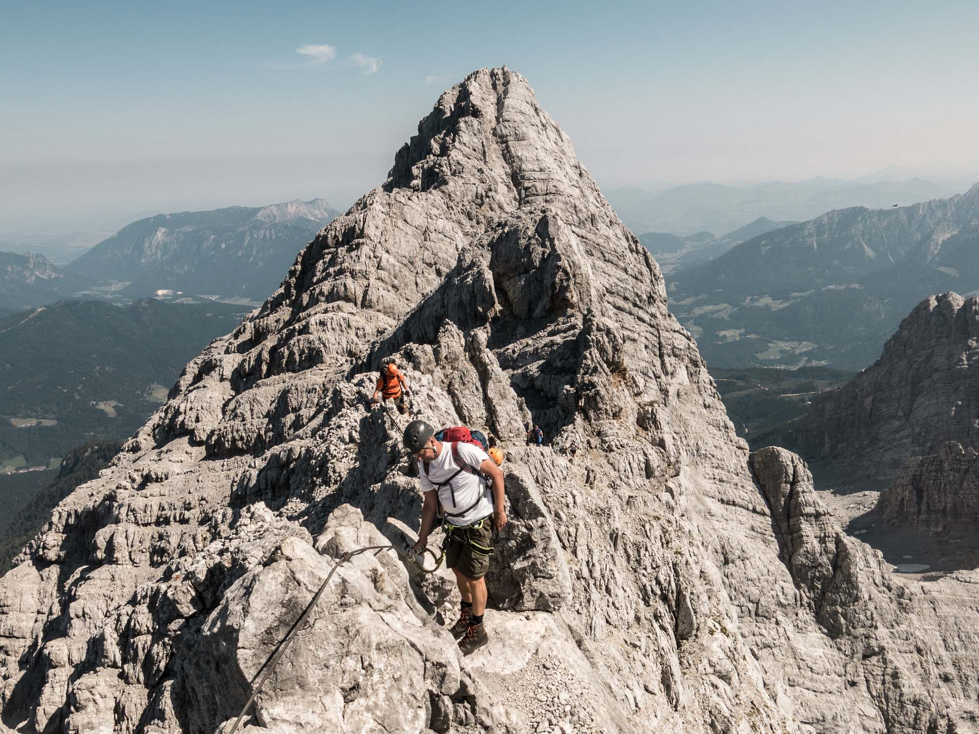 Klettersteig Watzmann : Watzmann Überschreitung klettersteig mit bergführer