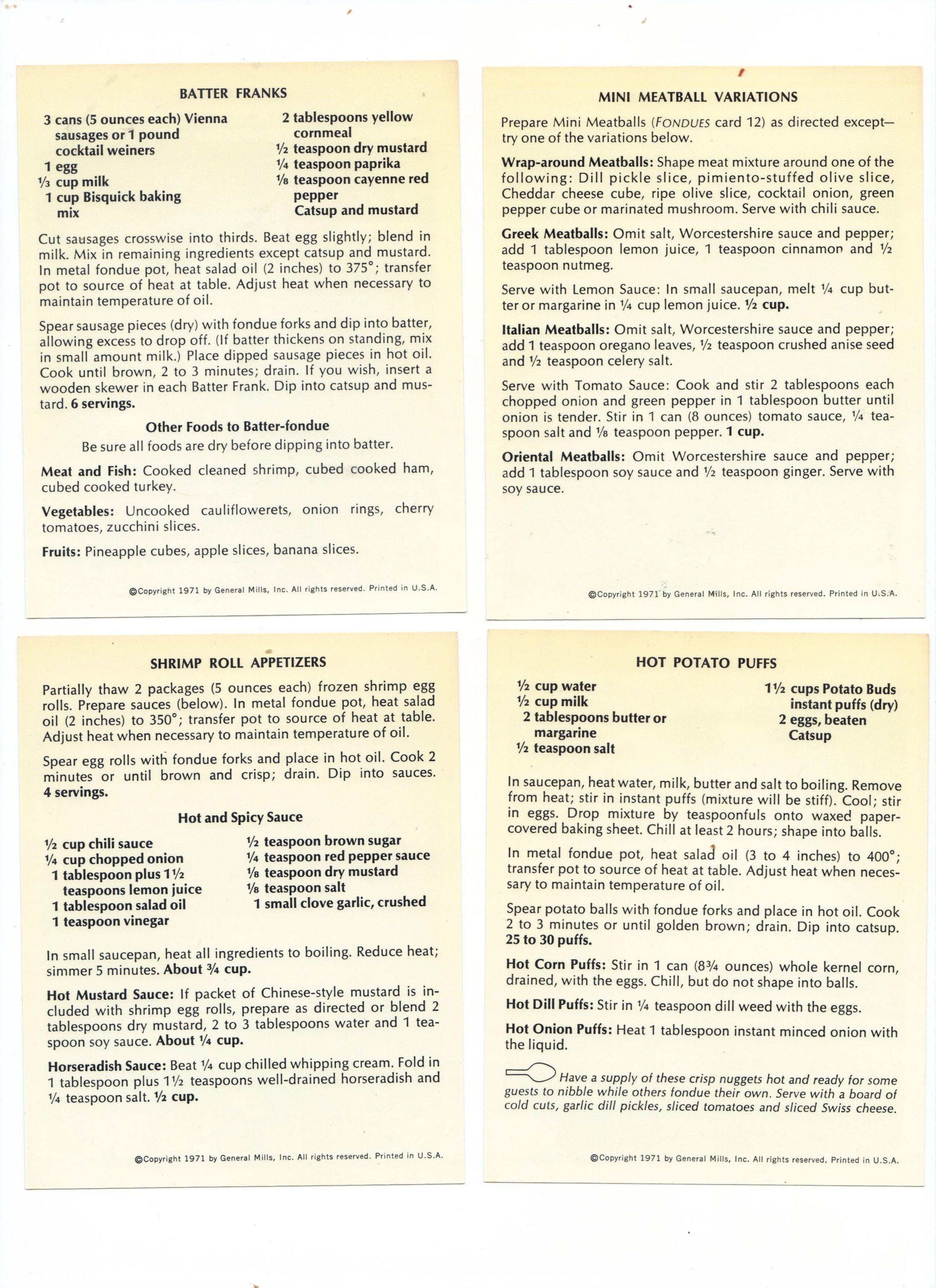26 Vintage Fondue Recipes #meatfonduerecipes 26 Vintage Fondue Recipes #meatfonduerecipes