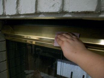 How To Paint A Brass Fireplace Screen Projects To Try
