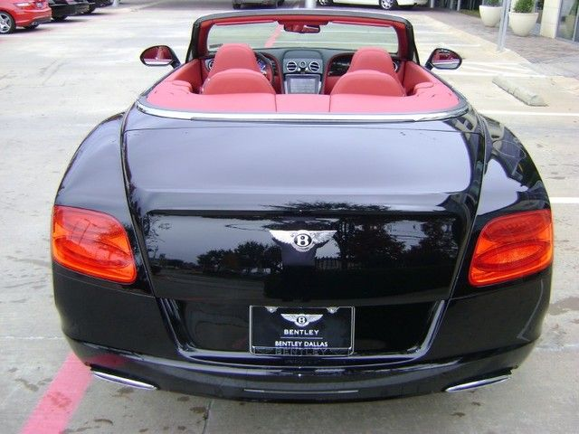 2012 Bentley Continental Gt Base Convertible In Beluga Black With