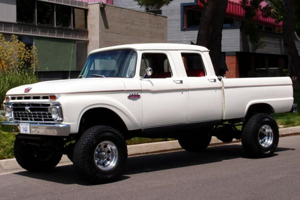 For Sale 1966 Ford Crew Cab Ford Crew Cab Ford Pickup Trucks Classic Chevy Trucks
