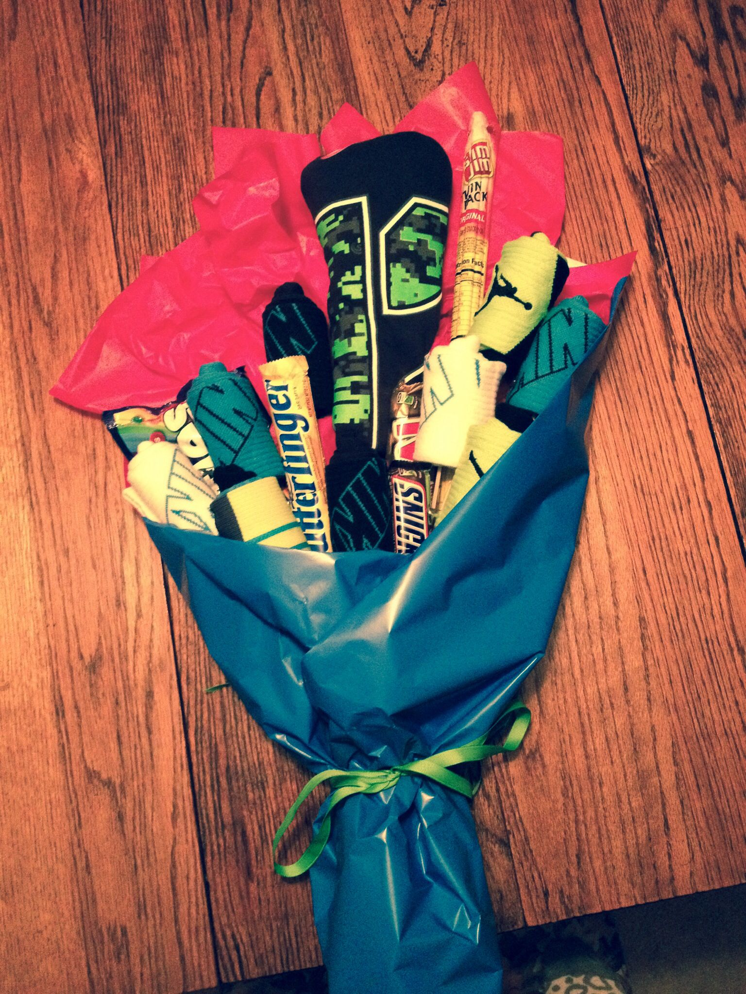 Nike Elite Socks Bouquet For My 12 Year Old With Treats