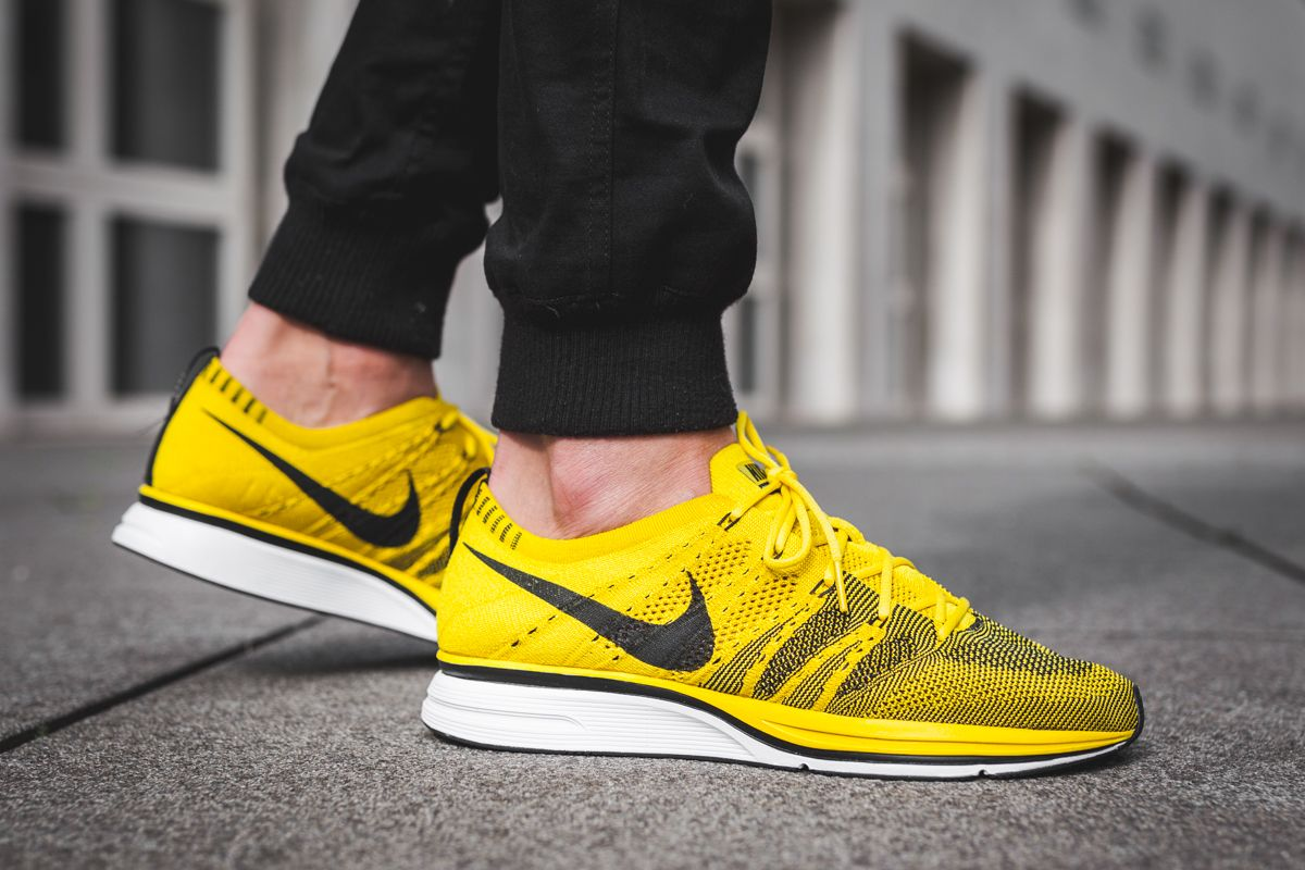 a66338144724c Nike Flyknit Trainer BUY Nike Flyknit Trainer Bright Citron ...