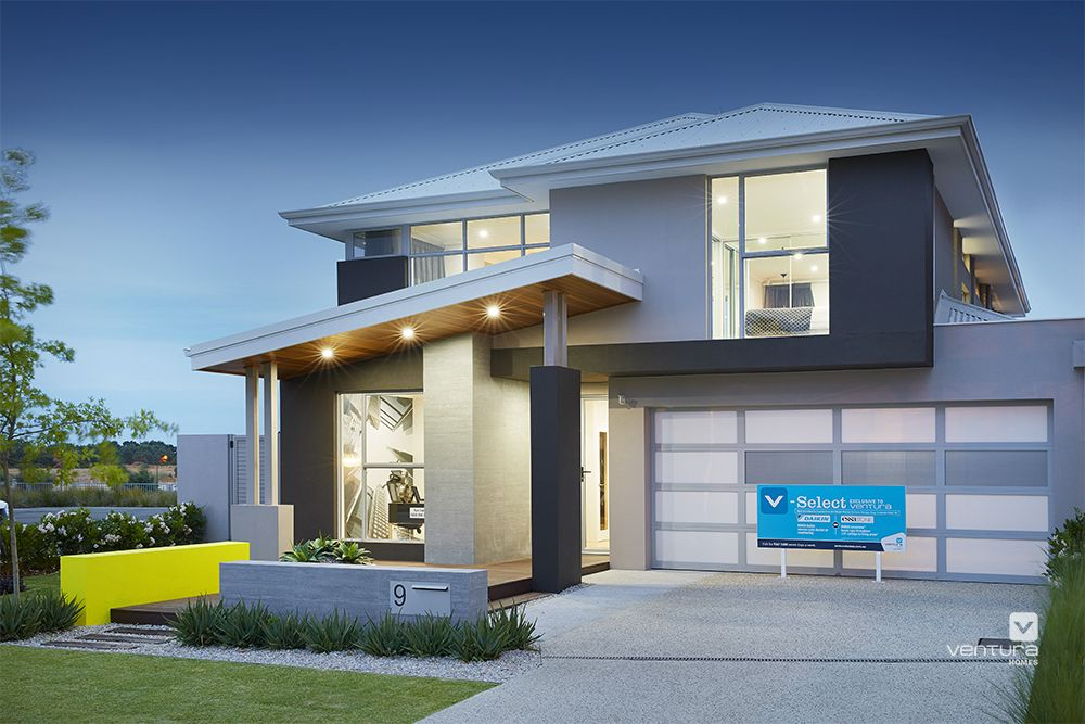 The Monterosso Double Storey Display Home Elevation