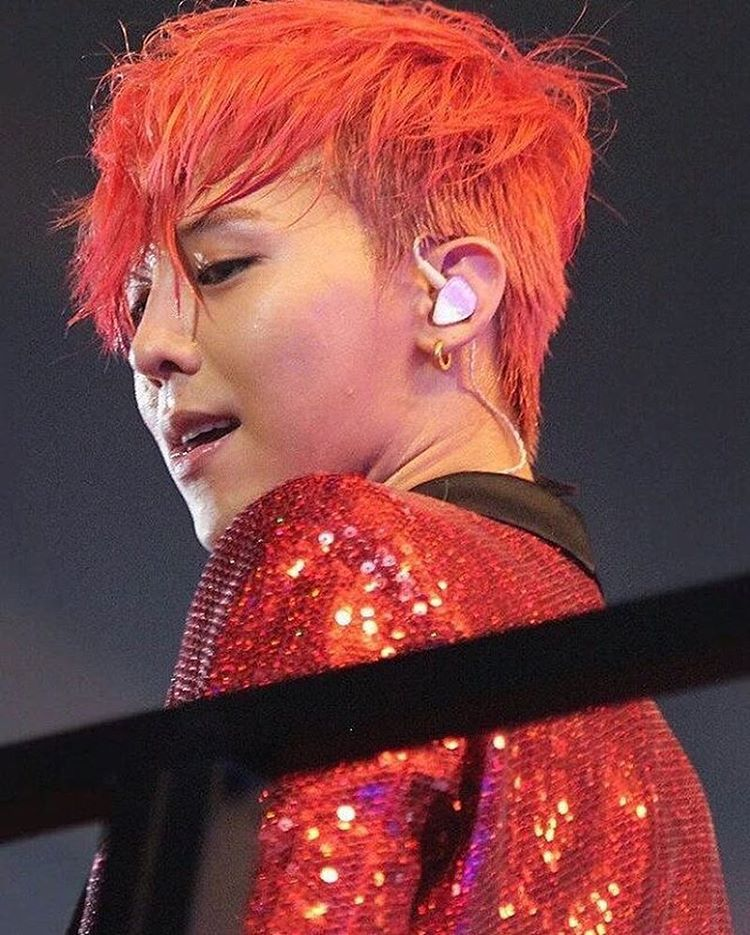 Appreciation G Dragon Red Hair Appreciation Comebackplease Celebrity Photos Onehallyu Red Hair Hair G Dragon