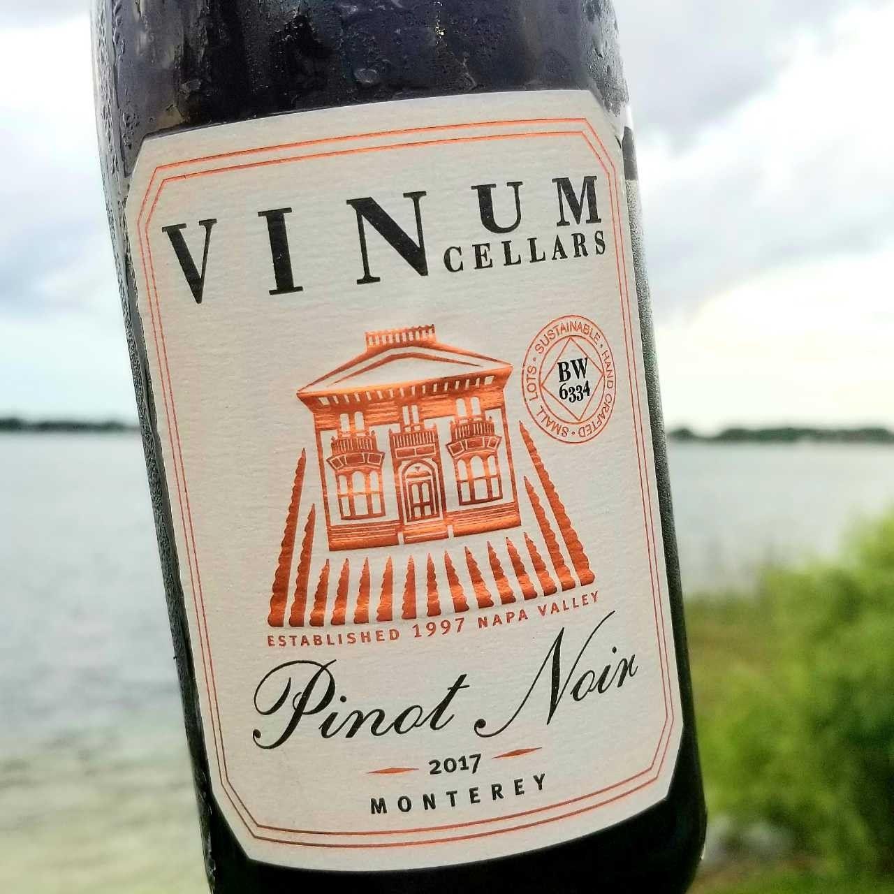 Vinum Cellars Pinot Noir 2017 Monterey County California In 2020 Pinot Wine Writer Pinot Noir