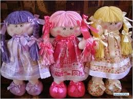 bonecas de pano deitada - Pesquisa Google