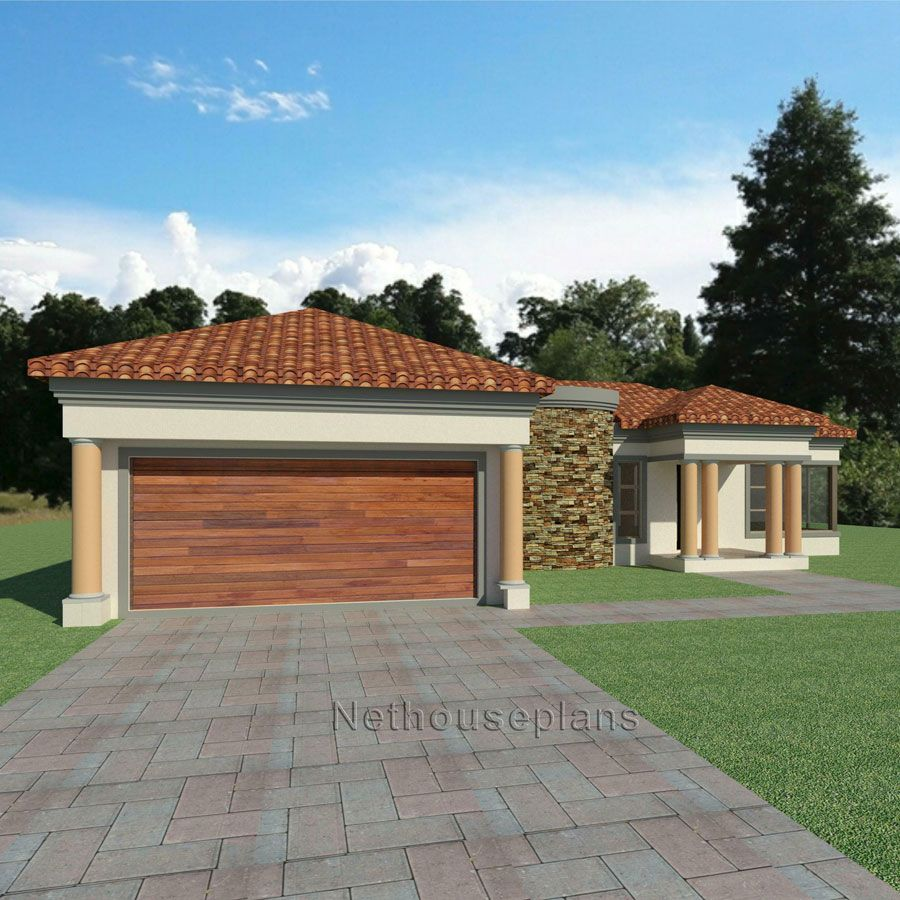 3 Bedroom House plan South African House Designs ...