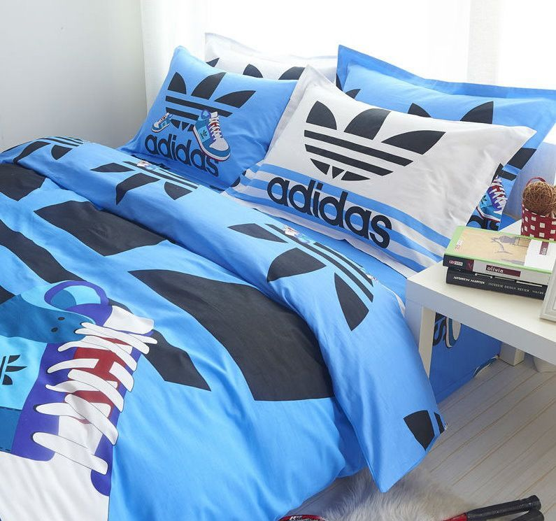 Adidas Sports Design Twin Amp Queen Duvet Cover Sets