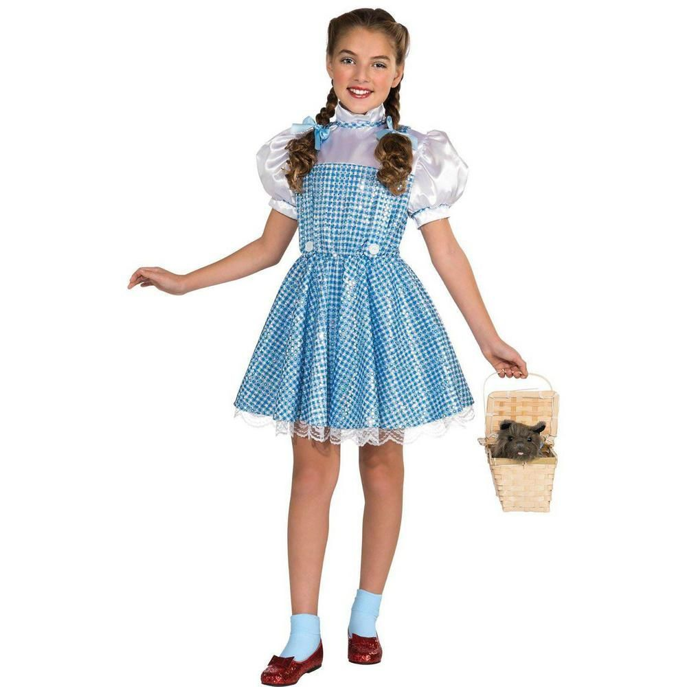 The WIZARD of Oz 2T-4T Girls Dorothy Kids Costume, Girl's, Multicolor#2t4t #costume #dorothy #girls #kids #multicolor #wizard