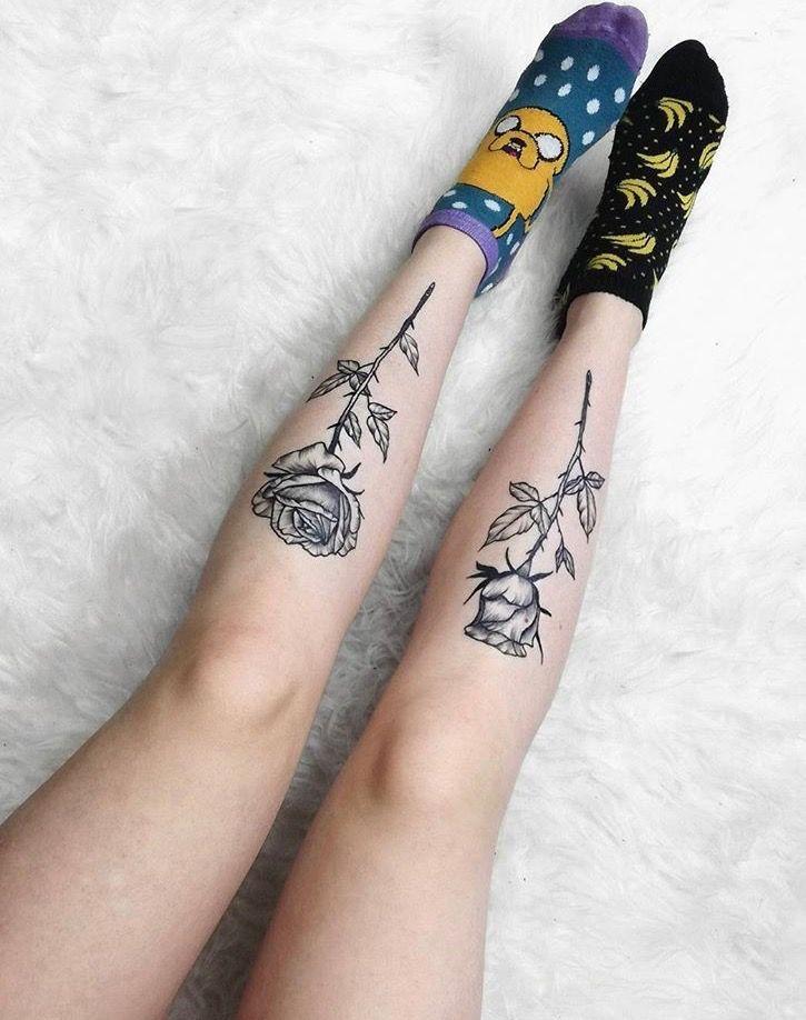 Pin By Tiffani Golding On Tattoo Thoughts Knee Tattoo Leg