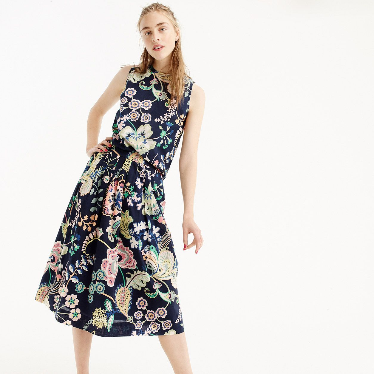 Cotton skirt in liberty betsy ann floral products pinterest