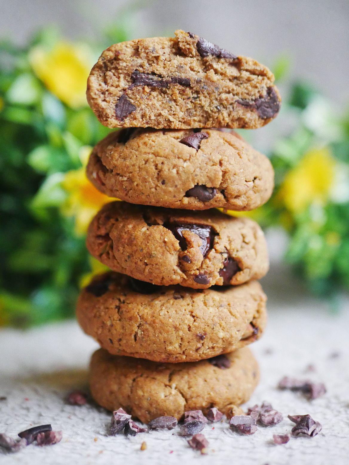 Cookies de DINGUE au beurre de cacahuète et au chocolat ...