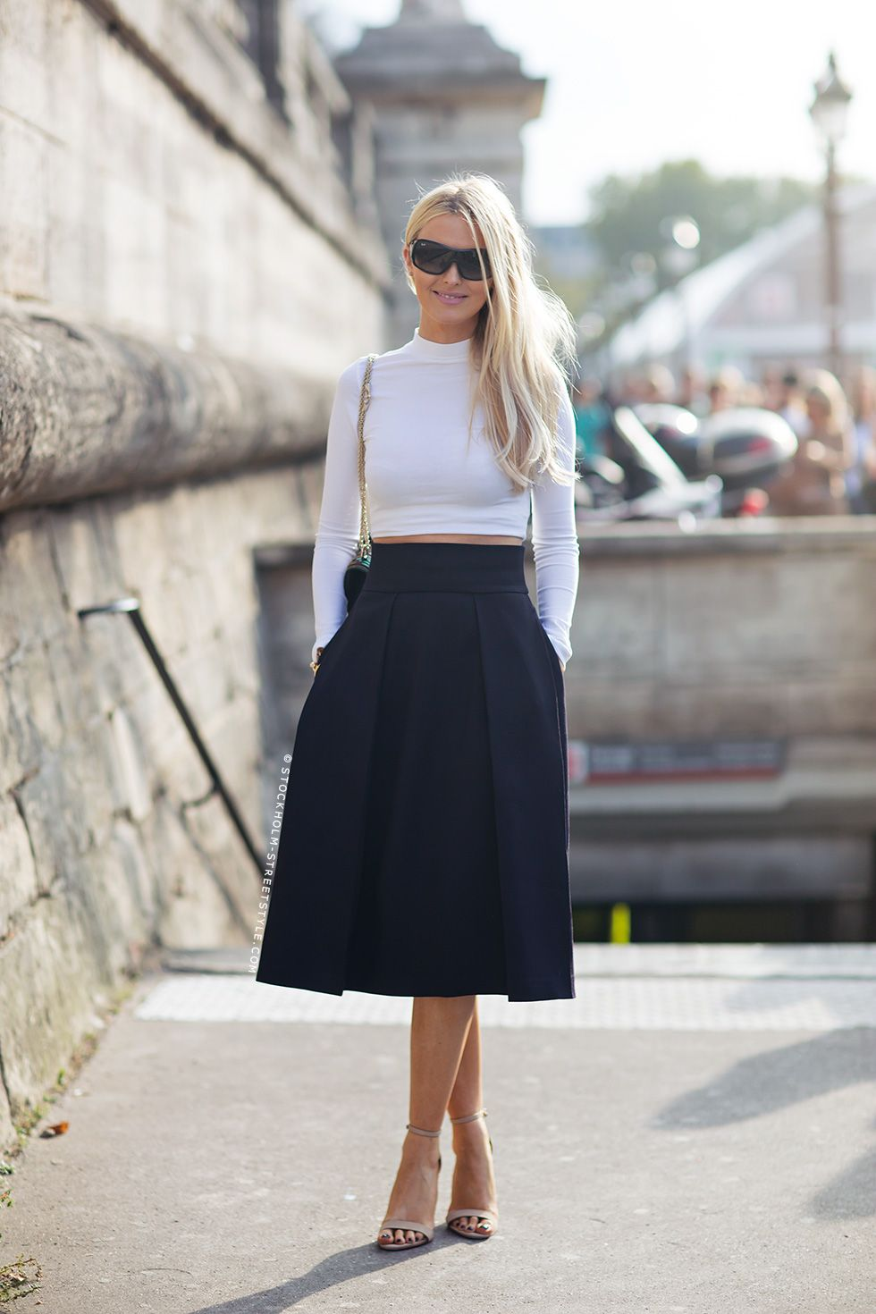 Tell me about your outfit, what you are wearing? - Im wearing skirt and top from Marni, shoes...