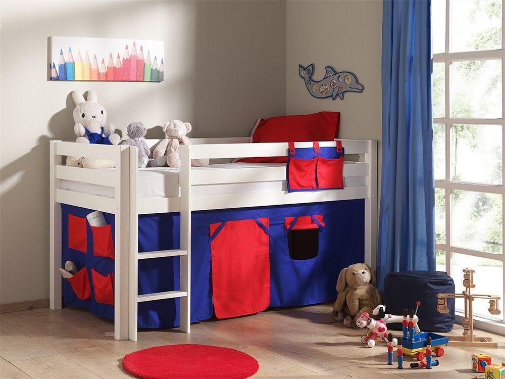 habillage de lit surélevé ou lit mezzanine enfant housse