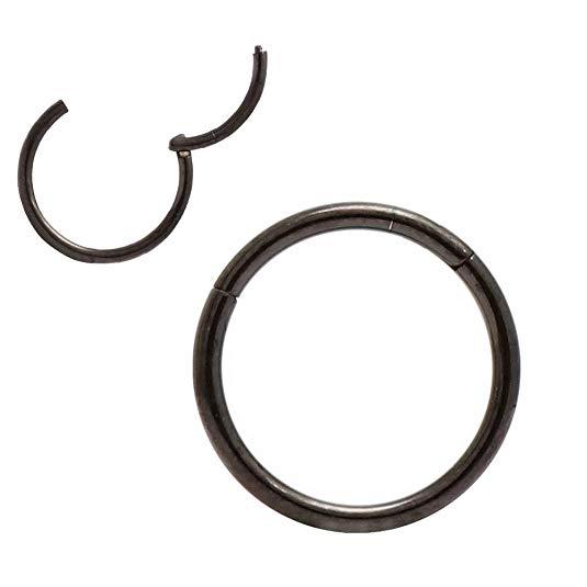 Amazon Com Orangelove Lip Rings 12 Gauge Earrings Septum Jewelry