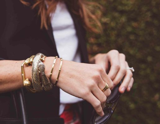 Some of my favorite cuffs and bangles from @jfisherjewelry