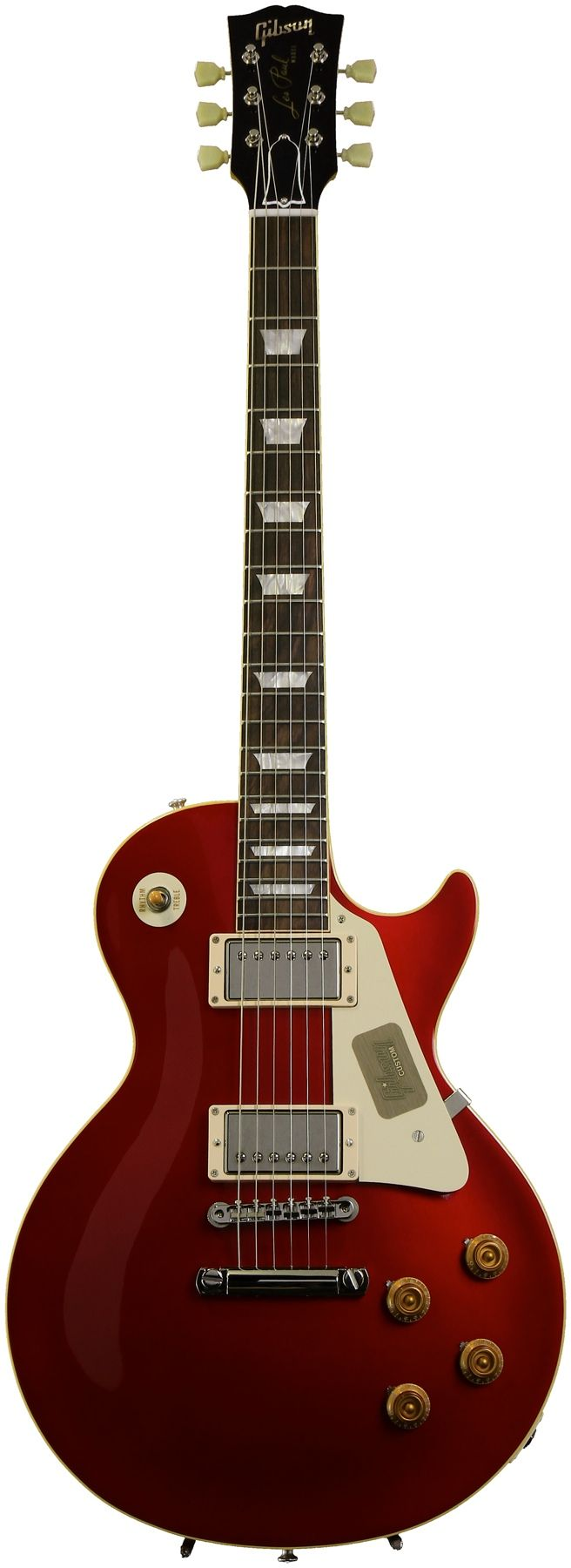 Gibson Custom 1957 Les Paul Reissue (Candy Apple Red) | Sweetwater.com
