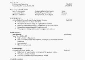 77 Beautiful Images Of Sample Resume For Highschool Graduate With Little Experience