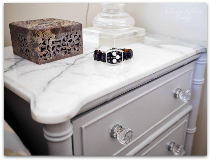Diy Refinishing Vintage Bedside Tables