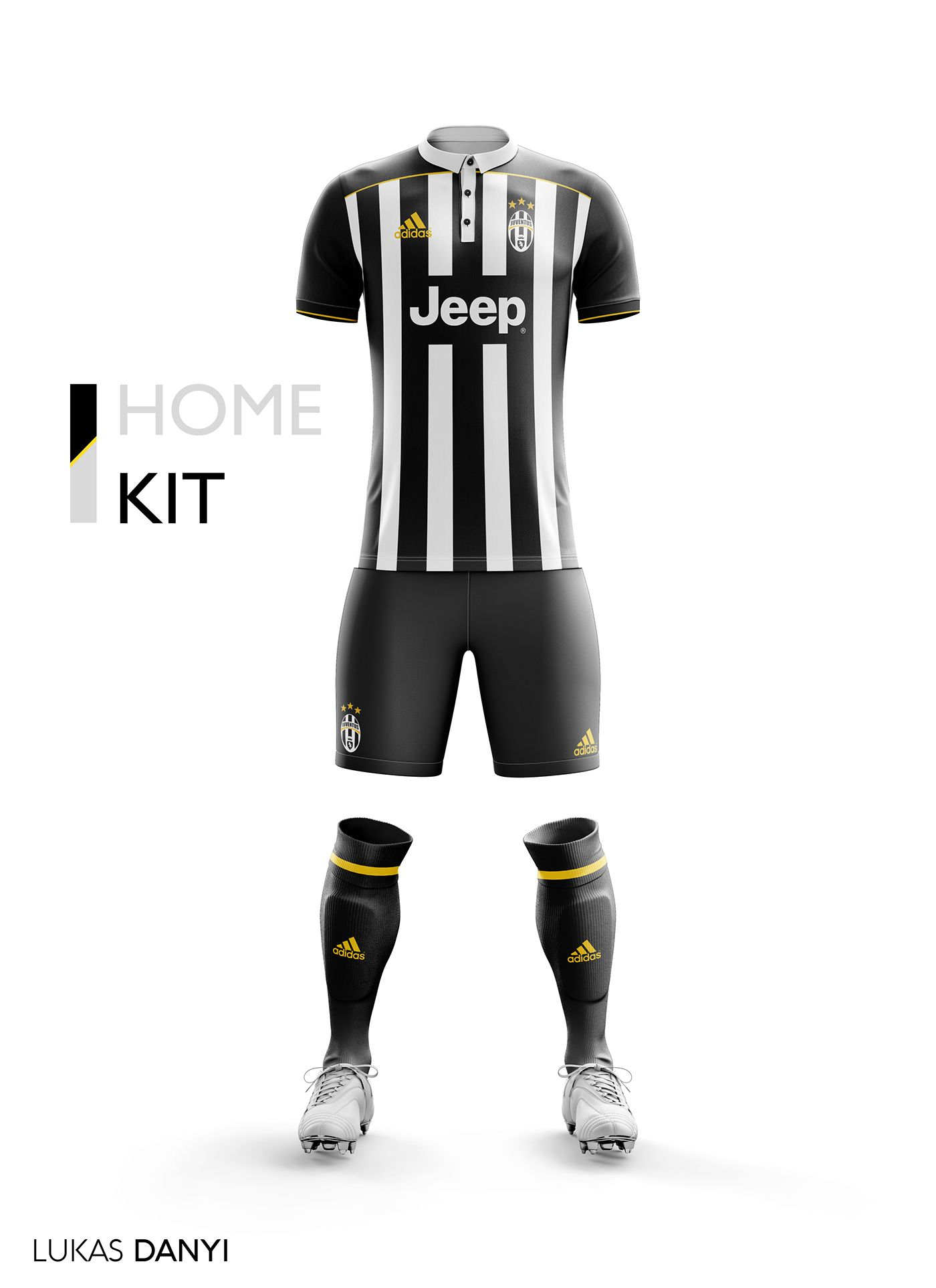 a7d7825609 I designed football kits for Juventus FC for the upcoming season 17 ...
